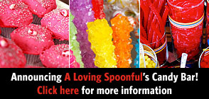 A Loving Spoonful CANDY BAR sweets & treats spoonful style