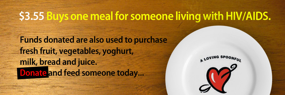 Donate and feed someone today...